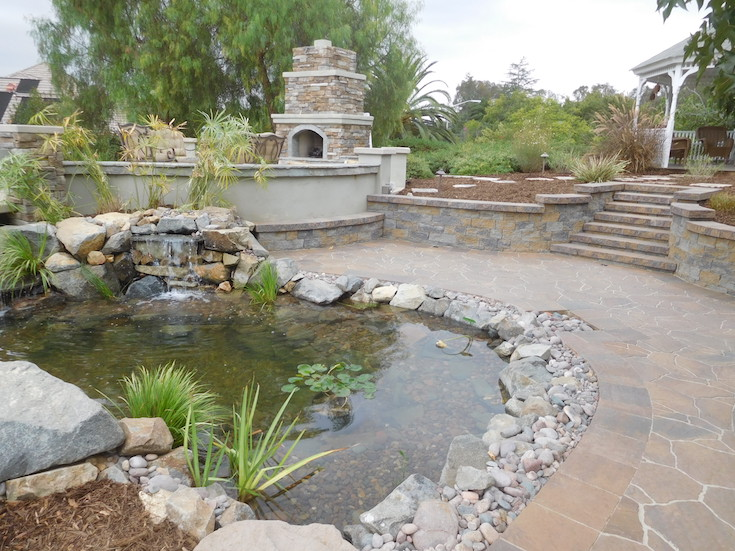 WATER FEATURES POND DESIGNS AGREDANO 3
