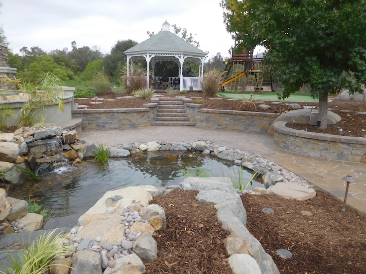 WATER FEATURES POND DESIGNS AGREDANO 4