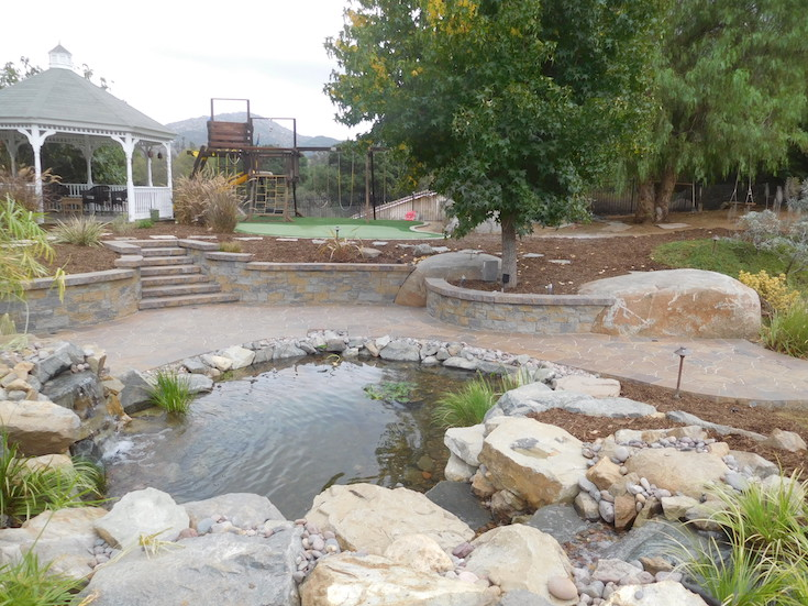 WATER FEATURES POND DESIGNS AGREDANO 5