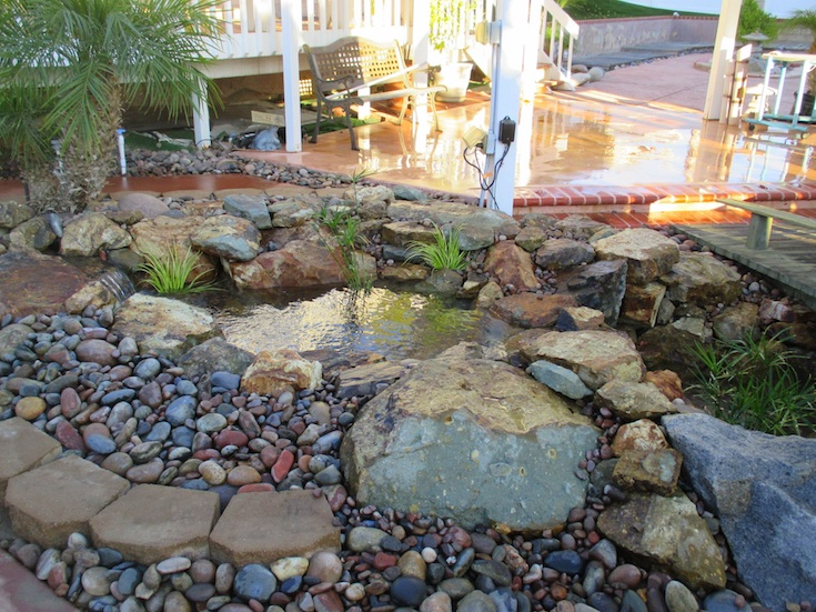 WATER FEATURES POND DESIGNS GONZALES 2