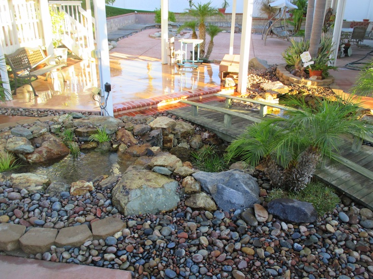 WATER FEATURES POND DESIGNS GONZALES 3