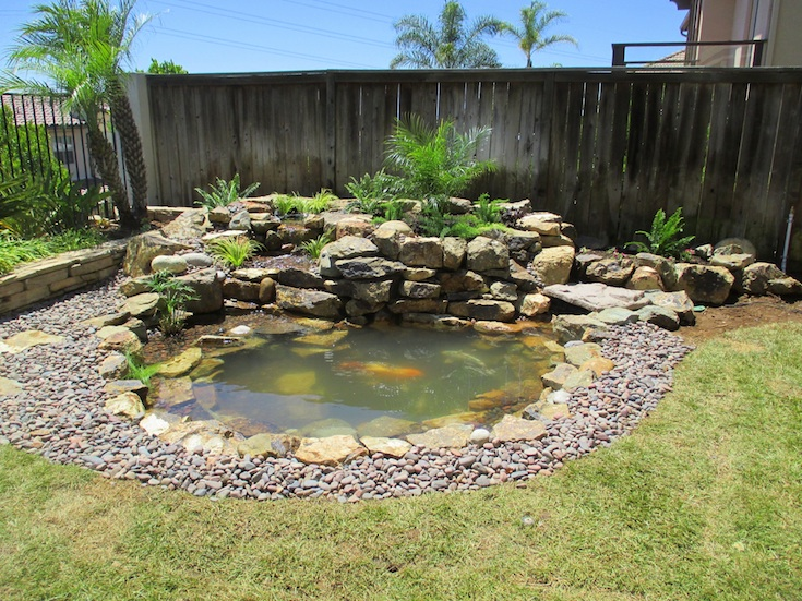 WATER FEATURES POND DESIGNS STELZNER 0