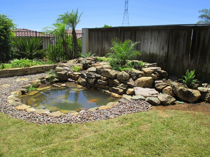WATER FEATURES POND DESIGNS STELZNER 1