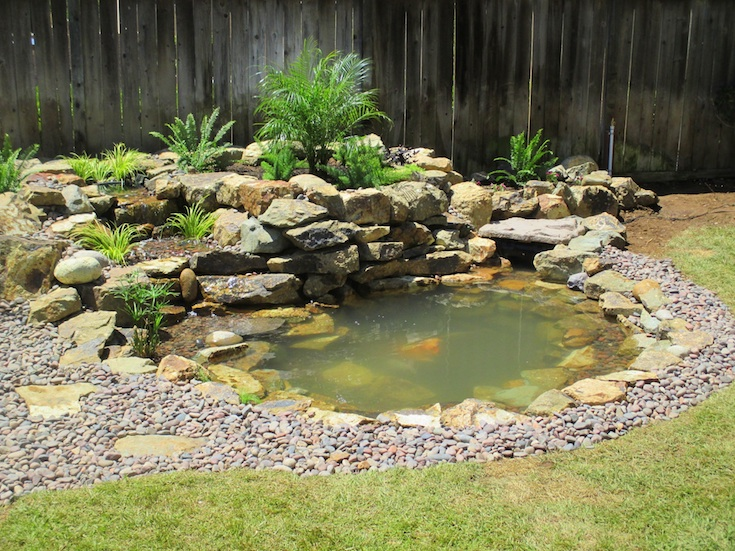 WATER FEATURES POND DESIGNS STELZNER 2